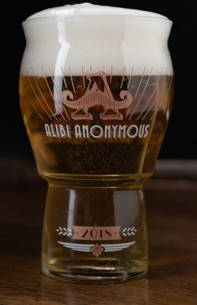 16oz Alibi Anonymous 2018 Collector's Rastal Glass