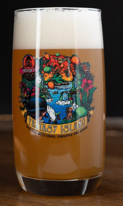 Mr. Tartacular's Fantasy Island Collector Pint