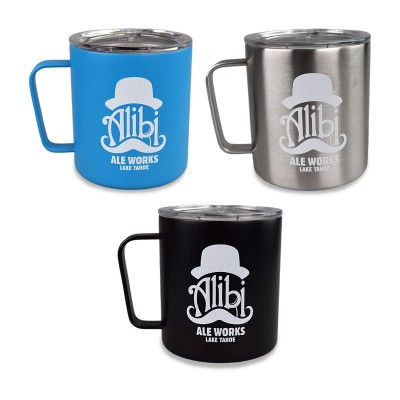 12oz Stainless Steel Camping Mug